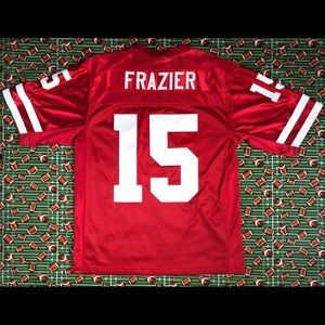 All Embroidered Tommie Frazier Huskers Jersey🏈